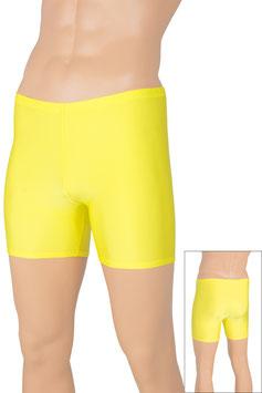 Herren Hotpant gelb