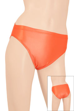 Damen Wetlook Slip orange