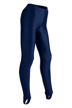 Damen Leggings mit Steg marine