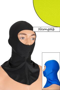 Sturmhaube Augen+Nase offen neongelb