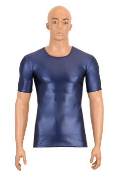 Herren Wetlook T-Shirt Slim Fit marine