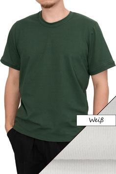 Herren T-Shirt Wide Fit Athleisure weiß
