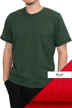 Herren T-Shirt Wide Fit Athleisure rot