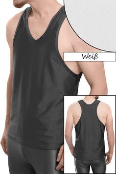 Herren Boxerhemd Comfort Fit weiß