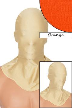 Kopfhaube geschlossen orange