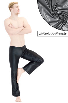 Herren Wetlook Jazzpant anthrazit