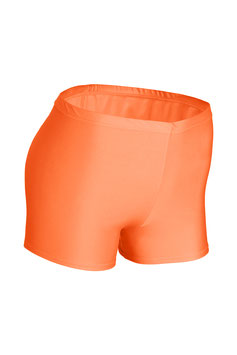 Damen Hotpant orange
