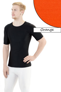 Herren T- Shirt orange