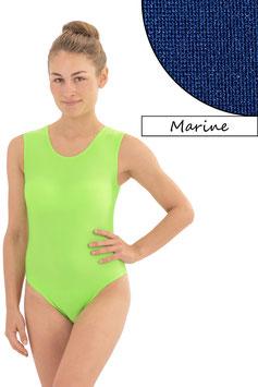 Damen Body ohne Ärmel marine