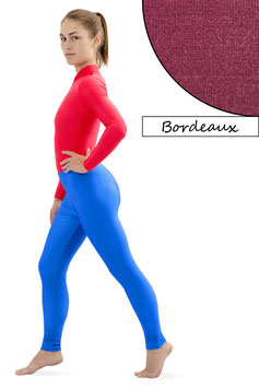 Damen Leggings bordeaux