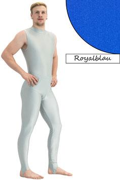 Herren Leggings mit Steg royalblau