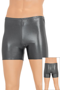 Herren Wetlook Hotpant anthrazit