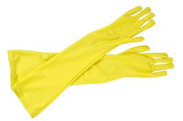 Lange Handschuhe gelb