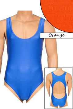Herren Body Boxerschnitt und freier Rücken orange