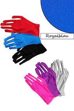 Kurze Handschuhe royalblau