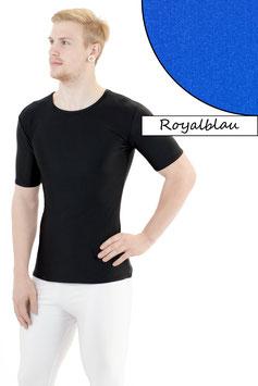 Herren T- Shirt royalblau