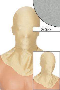 Kopfhaube geschlossen silber