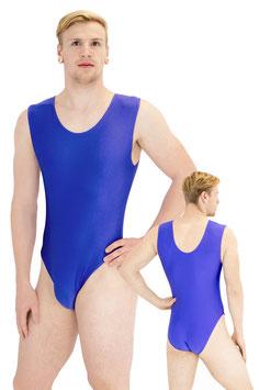 Herren Body ohne Ärmel royalblau