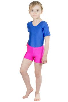 Kinder Kurzradler/ Hotpant pink