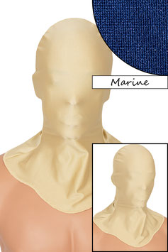 Kopfhaube geschlossen marine