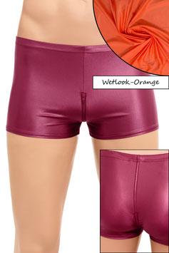 Herren Wetlook Shorty Schritt-RV orange