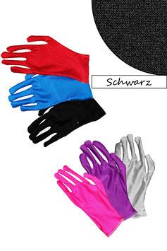 Kurze Handschuhe schwarz