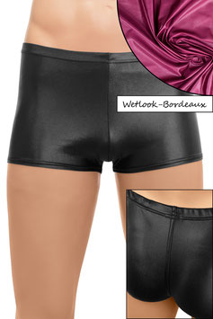 Herren Wetlook Shorty bordeaux
