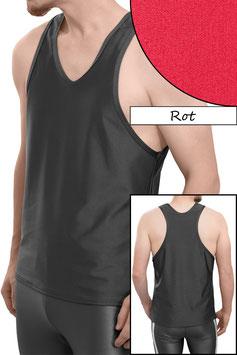 Herren Boxerhemd Comfort Fit rot