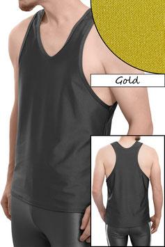 Herren Boxerhemd Comfort Fit gold