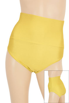 Damen High-Waist Slip gold