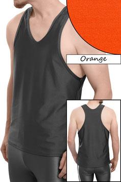 Herren Boxerhemd Comfort Fit orange