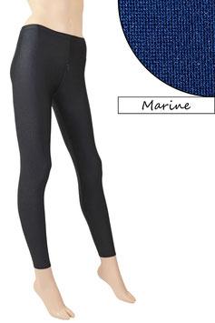 Damen Leggings mit Schritt-RV marine