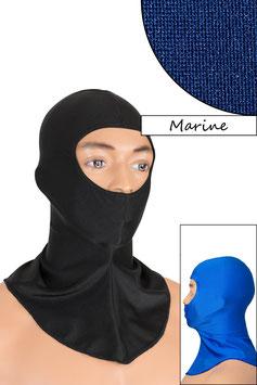 Sturmhaube Augen+Nase offen marine
