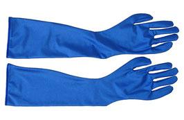 Lange Handschuhe royalblau