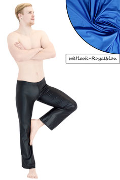 Herren Wetlook Jazzpant royalblau