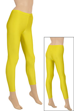 Damen Leggings gelb