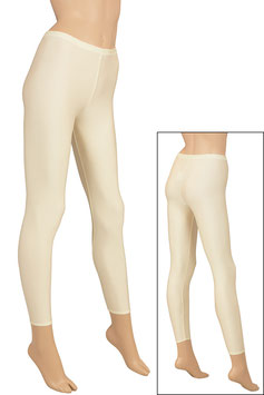 Damen Leggings creme