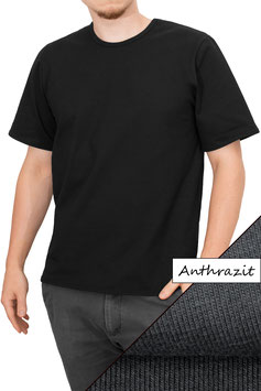 Herren T-Shirt Comfort Fit Athleisure anthrazit