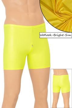 Herren Wetlook Hotpant SRV bright-sun