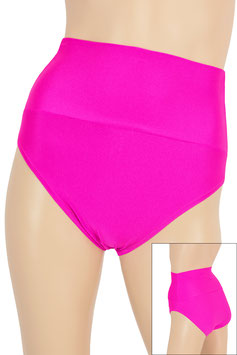 Damen High-Waist Slip pink