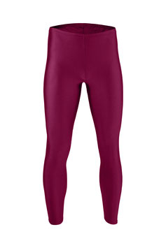 Herren Leggings bordeaux