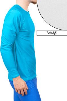 Herren Longsleeve T-Shirt Comfort Fit weiß