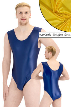 Herren Wetlook Body ohne Ärmel bright-sun