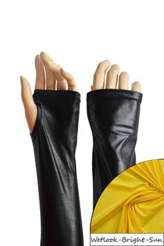 Wetlook fingerlose Handschuhe mit Daumenloch bright-sun