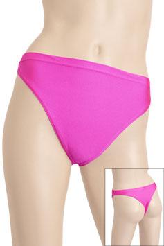 Damen String-Slip pink