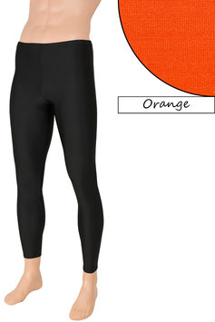 Herren Leggings orange
