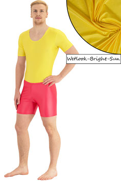 Herren Wetlook Hotpant bright-sun