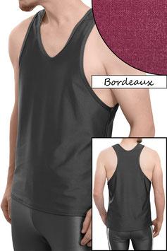 Herren Boxerhemd Comfort Fit bordeaux
