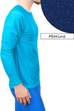 Herren Longsleeve T-Shirt Comfort Fit marine