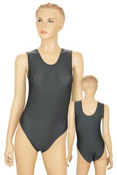 Damen Body ohne Ärmel anthrazit